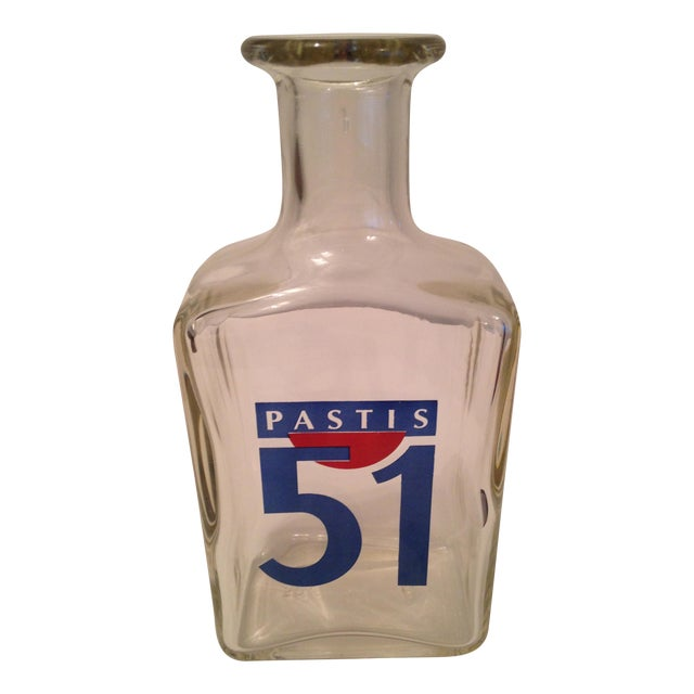 vintage french pastis 51 carafe chairish