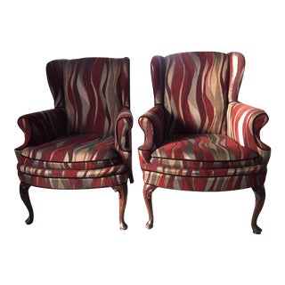 Contemporary Custom Upholstered Chairs - A Pair