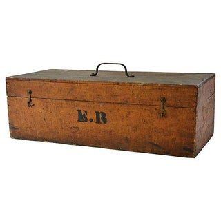 Vintage Handcrafted Wood Box