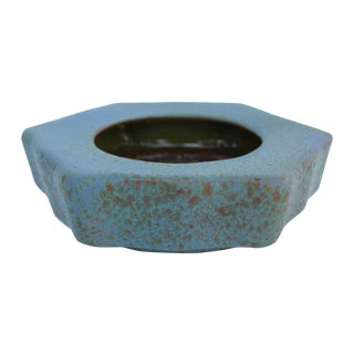 Honeycomb Italian Art Pottery Bowl