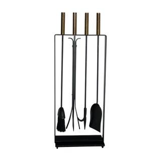 Modernist Fireplace Tool Set