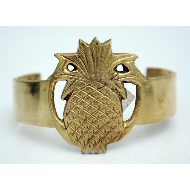 Image of Brass Pineapple Bracelet