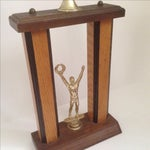 Image of Mid-Century Bowling Trophy