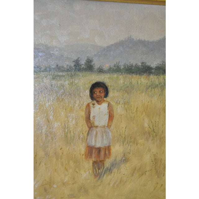 Grace Carpenter 1920 Pomo Indian Child - Image 3 of 7