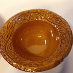 Image of Vintage 1966 CA Pottery Chip & Dip Dishes - A Pair