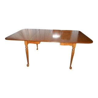 Ethan Allen Drop-Leaf Gate-Leg Dining Table