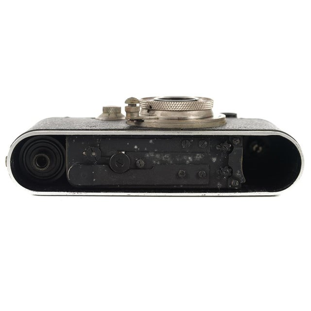 1930s Leica III Black Camera With 5cm Elmar Lens - Image 10 of 10