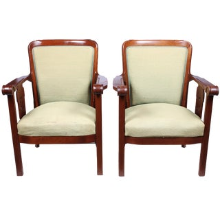 1920s Jugendstil Style Armchairs - A Pair