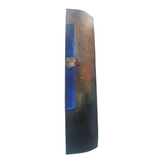 Large Expressionist Signed Floor Sculpture