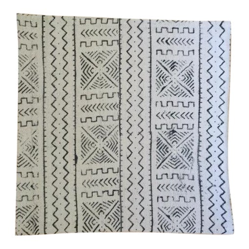 White African Mudcloth Pillow Cover - Image 1 of 3