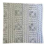 Image of White African Mudcloth Pillow Cover