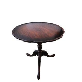 Georgian style Tilt Top Table,
