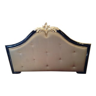 Lacquered Queen Tufted Headboard