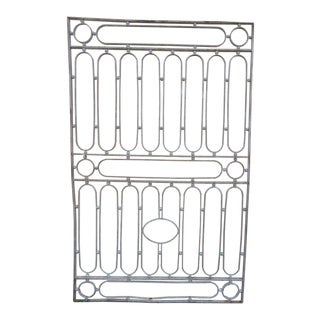 Update Antique Victorian Iron Gate or Garden Fence