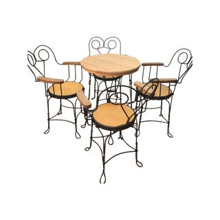 Vintage Cafe Dining Set