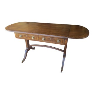 Henredon Vintage Drop Leaf Desk