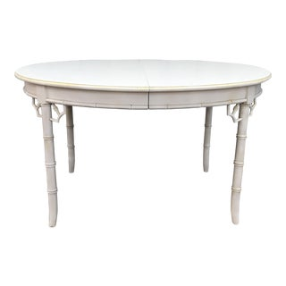 Thomasville Allegro Faux Bamboo Dining Table