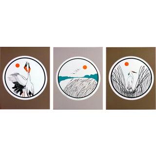 B.B. La Femme Waterbird Artist Proof Serigraphs- S/3