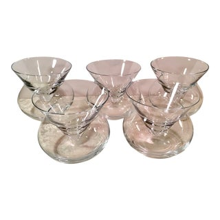 Mid-Century Modern Cocktail Glasses