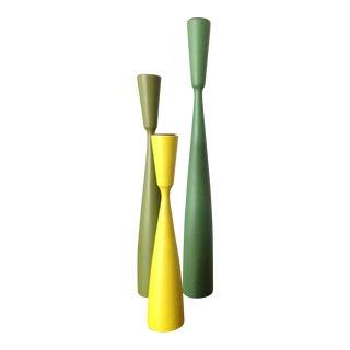 Danish Candle Holders - S/3
