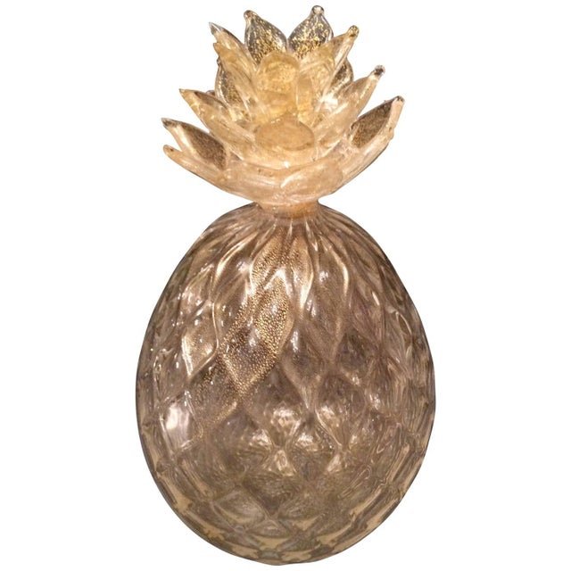 Segues Murano Pineapple With Gold - Image 1 of 2