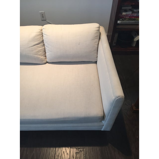 Baker Furniture Mid-Century Off-White Couch - Image 7 of 9