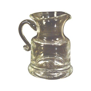 Simon Pearce Windsor Mini Pitcher Creamer Glass