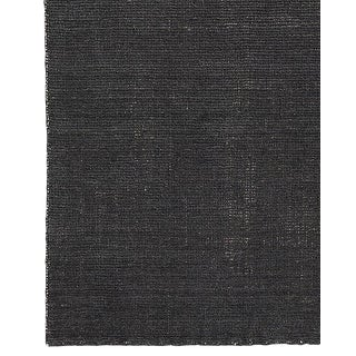Restoration Hardware Distressed Charcoal Wool Rug - 8' X 10'