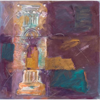 1990 Vintage Abstract Architectural by Starlie Sokol-Hohne