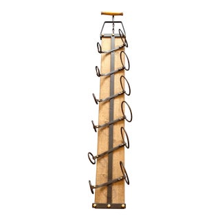 Vintage Style 6 Bottle Wine Rack