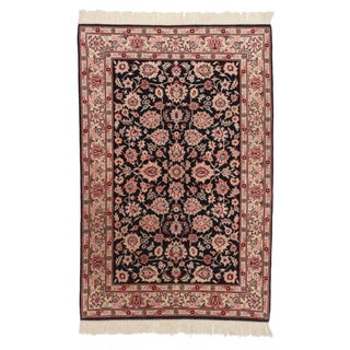 RugsinDallas Hand Knotted Wool Persian Style Rug - 4′1″ × 6′3″
