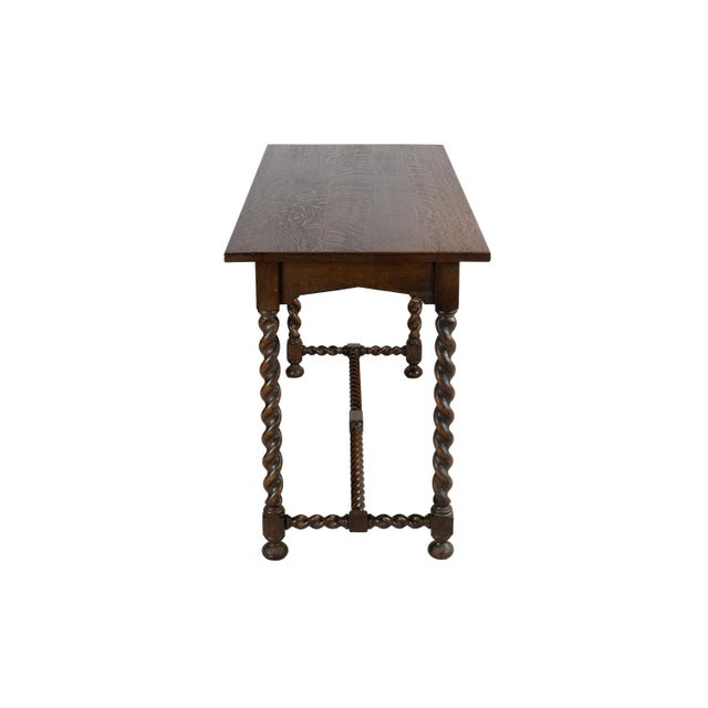 Stickley Brothers Oak Console - Image 3 of 3