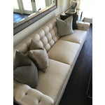 Image of Tufted Hollywood Regency-Style 9' Sofa