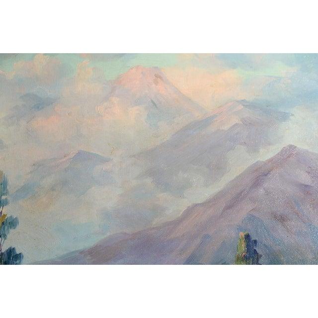 Martella Cone Lane -California Landscape -Oil Painting -Impressionist C.1920s - Image 9 of 10