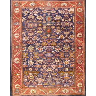 """Antique Persian Sultanabad Rug - 13'9"""" x 17'8"""""""