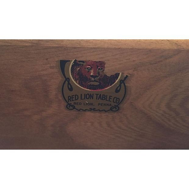 Image of Red Lion Small Credenzas - Pair