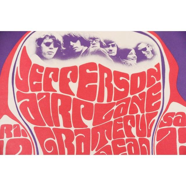 Image of Vintage Grateful Dead in San Francisco Concert Poster