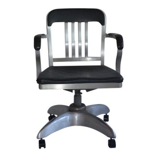 Vintage Aluminum Goodform Propeller Office Chair