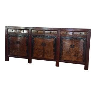 Vintage Asian Inspired Side Board