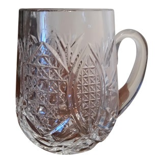 Waterford Stunning Cut Crystal Tankard