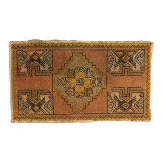 Turkish Handmade Floor Carpet - 1′8″ × 2′10″