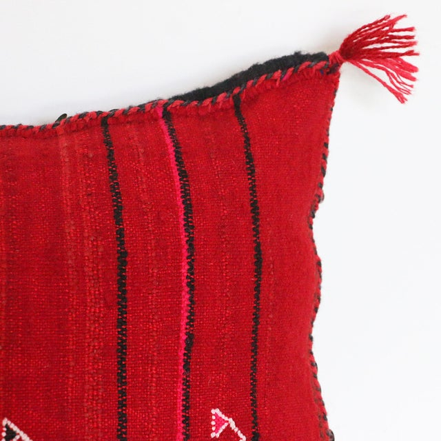 Handcrafted Moroccan Kilim Pillow IV - Image 5 of 6