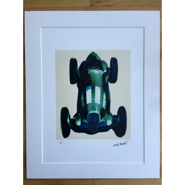 Andy Warhol Mercedes Grano-Lithograph - Image 3 of 5