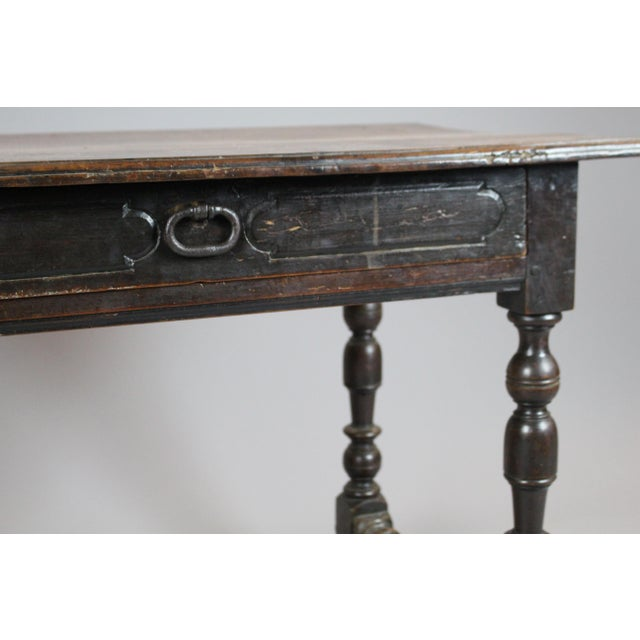 18th Century Walnut Console Table - Image 5 of 5