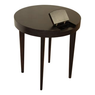 Gilbert Rohde Ebonized Occasional Table