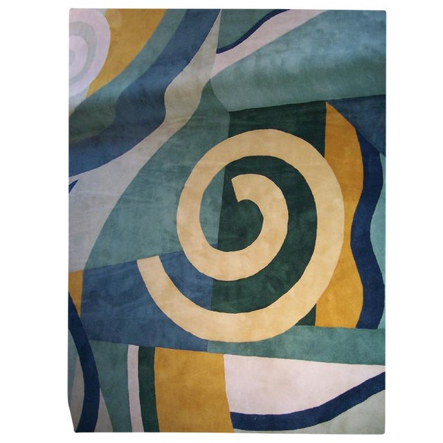 Custom Edward Field Deco Style Rug (13 x 13 Foot) - Image 1 of 5