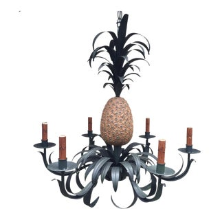 Vintage Resin Pineapple Chandelier