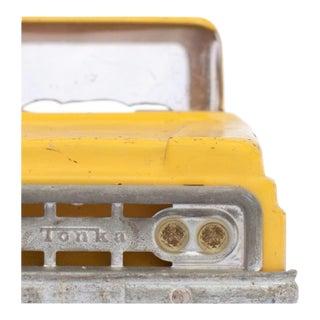 Close Up Yellow Truck Facing Forward Photograph