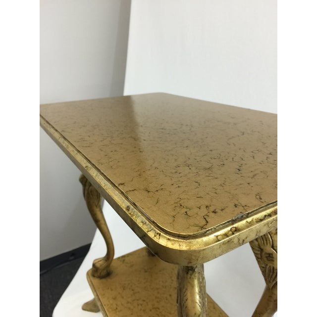 Image of Italian Gold Side Table