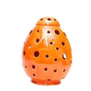 Atlas Chic Orange Egg Lamp